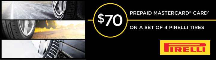 Pirelli February, 2018 rebate with Discount Tire
