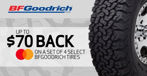 BF Goodrich rebate for August and September 2019