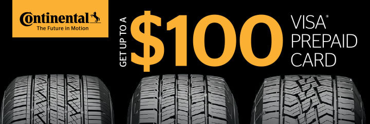 Continental tire rebate july 2019