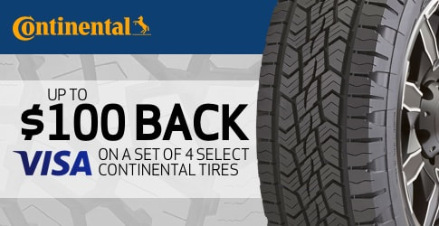Continental Tire Rebate