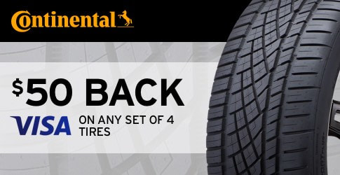 Continental tire rebate May 2018