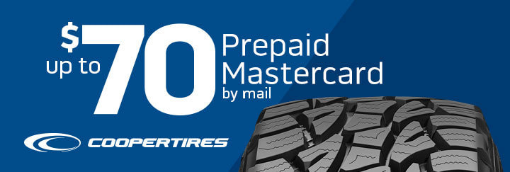 Cooper tires rebate for November 2019 with Discount Tire Direct
