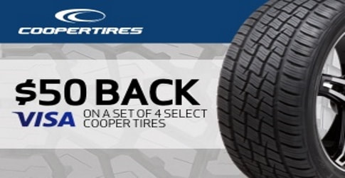 Cooper tire rebate for June 2019