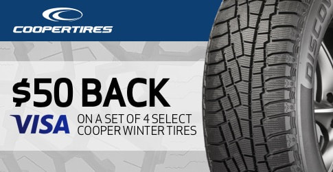 Cooper Winter Tires rebate for December 2019 - TireBuyer