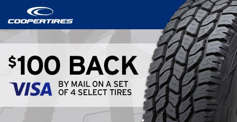 Cooper Tire rebate May 2018