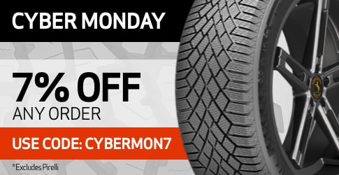 Cyber Monday 2020 order code with TireBuyer.com