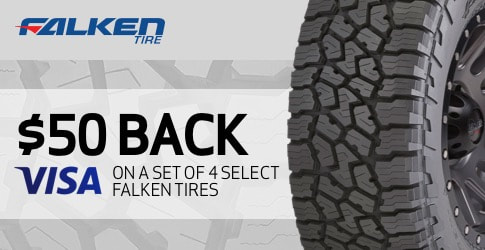 Falken tire rebate for November 2018