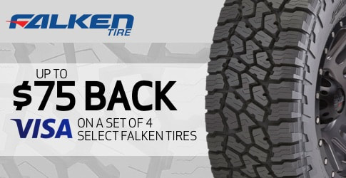 Falken tires rebate January 2019