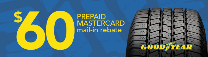 Goodyear tire rebate November 2018