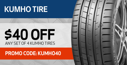 Kumho tire discount code for May 2019