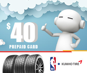 Kumho Tire-Pep Boys rebate
