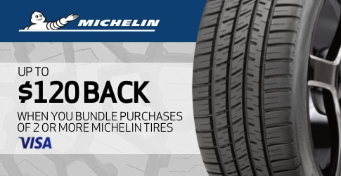 November 2020 Michelin tire rebate with TireBuyer.com
