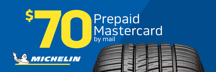 Michelin tire rebate July 2019