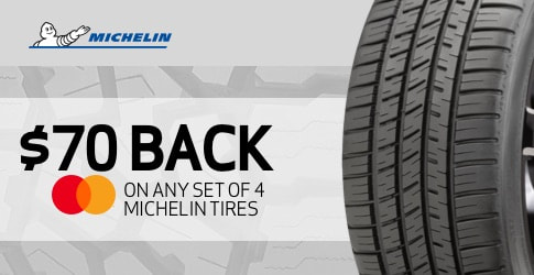 Michelin tire rebate for March and April 2020