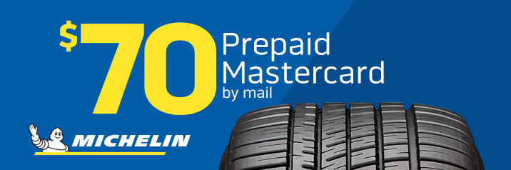 Michelin tire rebate with Discount Tire for May 2019