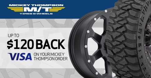 Mickey Thompson tire rebate for may and june 2019