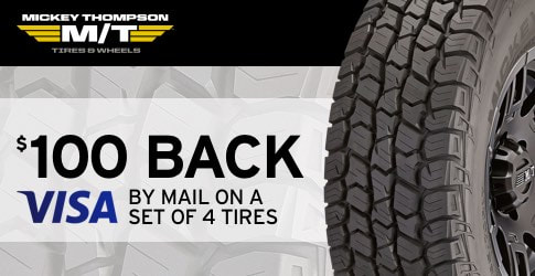 Mickey Thompson rebate for March, 2018