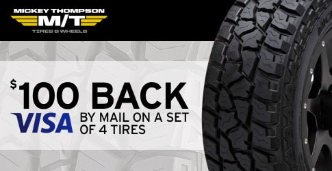 Mickey Thompson tire rebate for September 2018