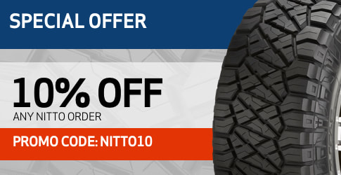 Nitto tires discount code March 2019