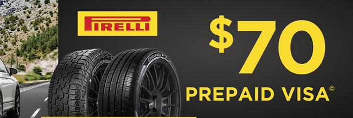 Pirelli tire rebate for september 2020 with discount tire direct