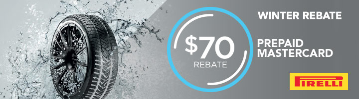 Pirelli Winter Tire Rebate with Discount Tire
