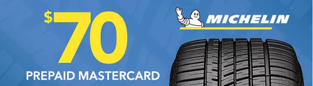 Michelin tire rebate with Discount Tire January 2019