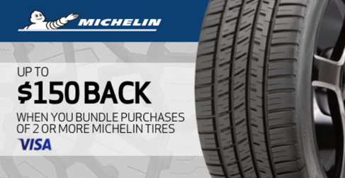 Michelin tire rebate for July 2020 with TireBuyer.com