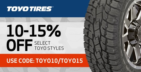 Toyo tire discount code for May 2019