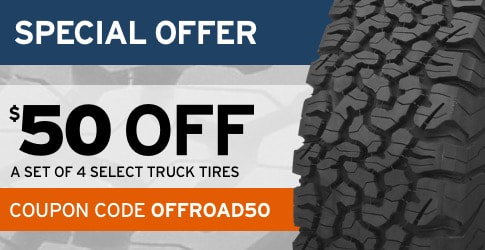 $50 off truck tires coupon code