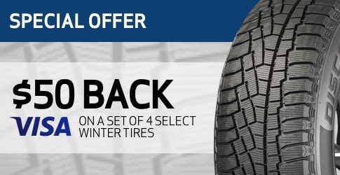 Winter Tire rebate for September 2018